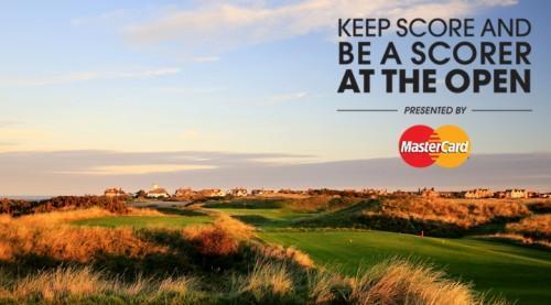 Keep score and be a scorer at The Open