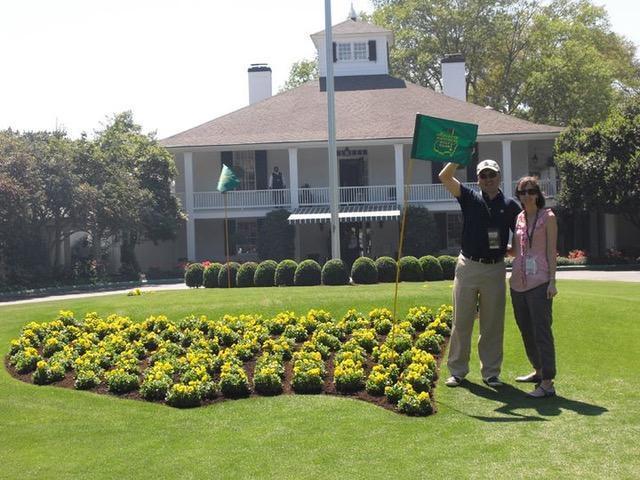 Golf GameBook   #GBambassador John Kim at The Masters & Augusta National