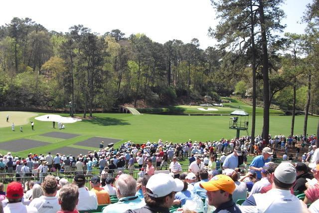 Golf GameBook   Amen Corner, The Masters, Augusta National