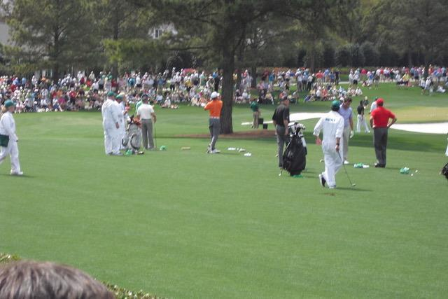 Golf GameBook   John Kim at The Masters