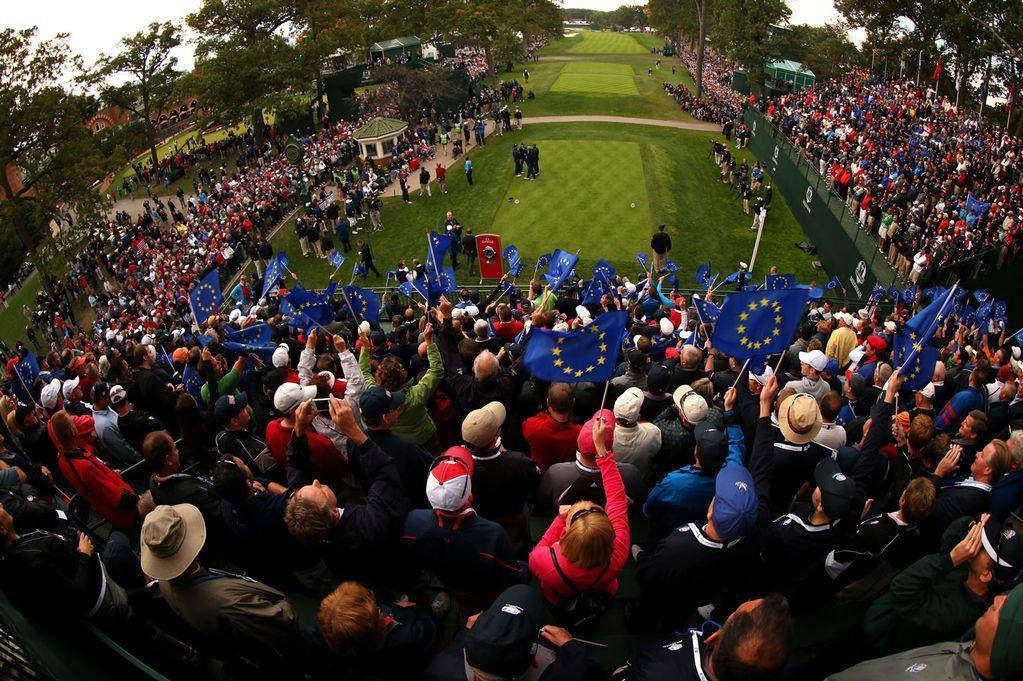 The 39th Ryder Cup at Medinah Country Club. The Ryder Cup will be played for the 40th time this year. (Photo: www.mirror.co.uk)